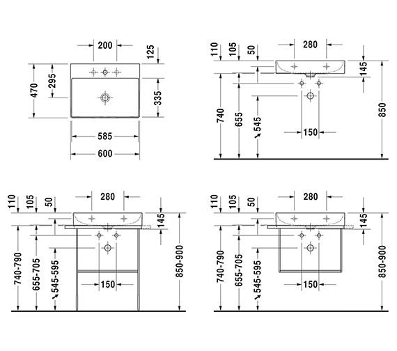 Technical drawing QS-V33574 / 2353600070