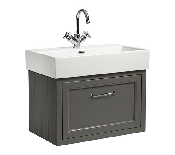 Additional image of Roper Rhodes Hampton 700mm 1 Drawer Wall Mounted Unit With Basin