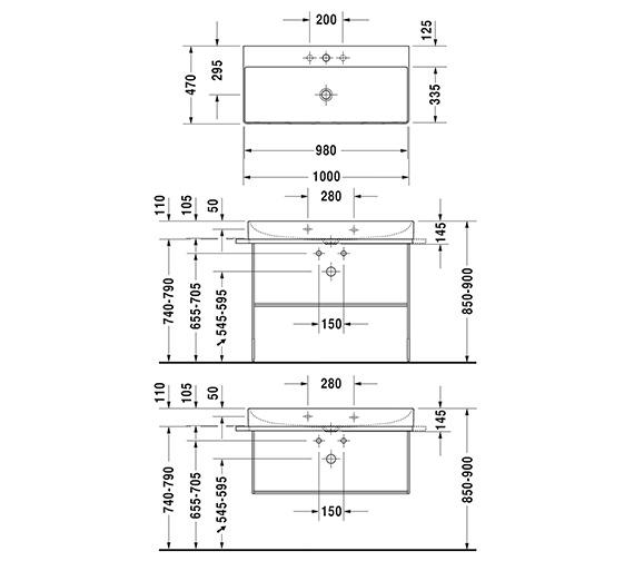 Technical drawing QS-V33565 / 2353100070