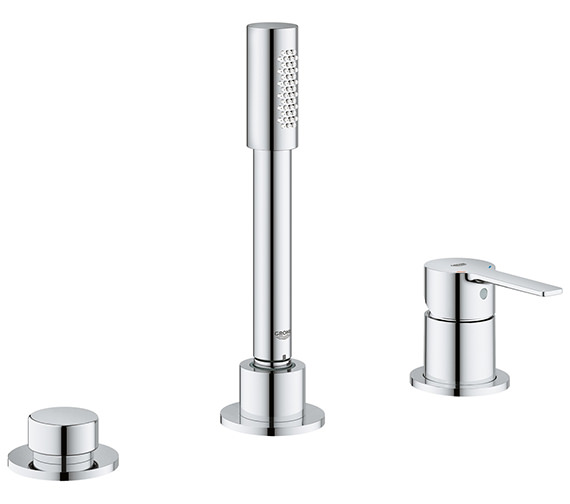 Grohe Lineare 3 Hole Single Lever Bath Combination