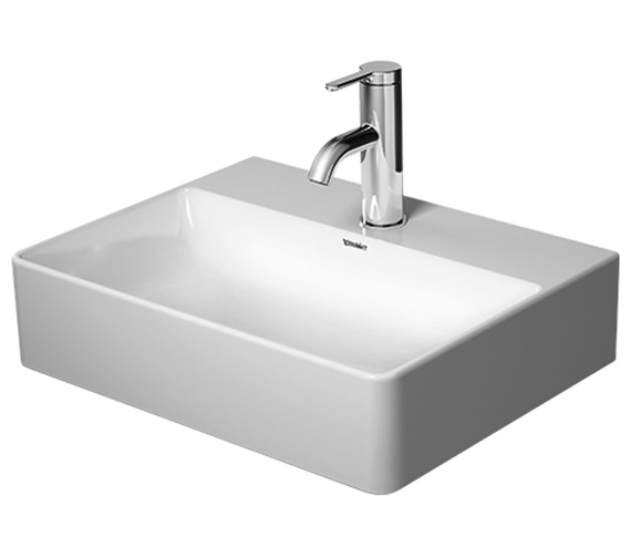 Duravit DuraSquare 450mm Basin With 1 Tap Hole