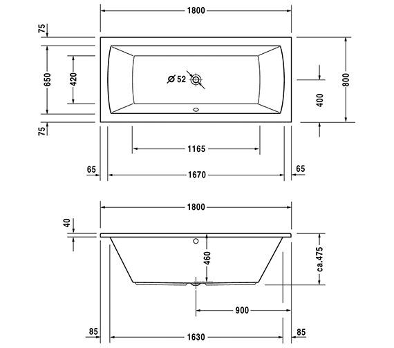Technical drawing QS-V10819 / 700028000000000