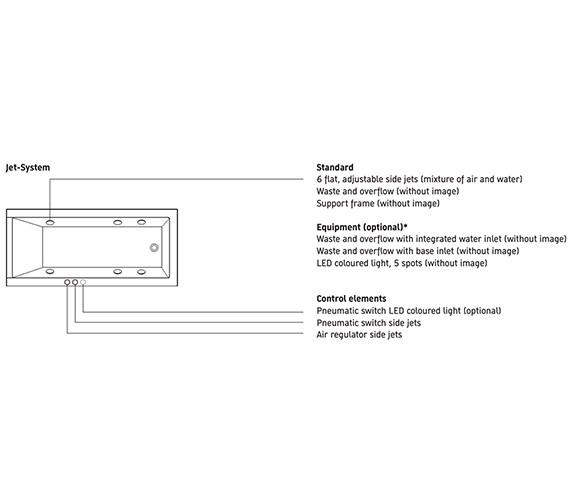 Additional image for QS-V10815 Duravit - 760141000JS1000
