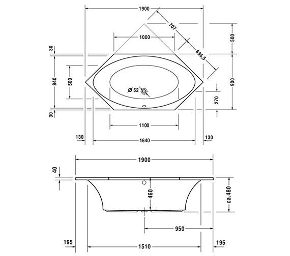 Technical drawing QS-D19341 / 700025000000000