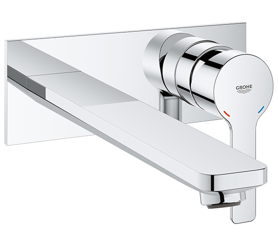 Grohe Lineare L Size 2 Hole Chrome Basin Mixer Tap