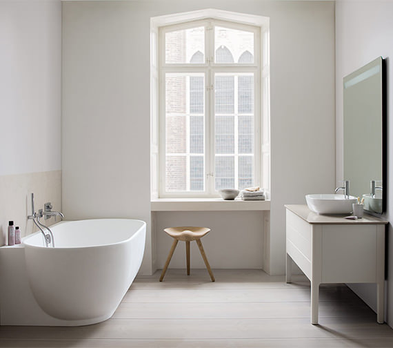 Duravit Luv 1850 x 950mm Corner Left Bathtub