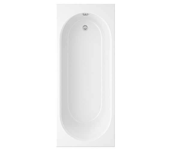Trojan Cascade White Standard Bath 1700 x 750mm - 2 Taphole