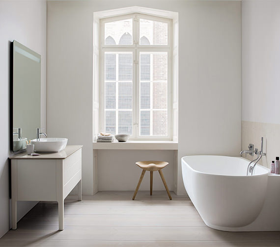 Duravit Luv 1850 x 950mm Corner Right Bathtub
