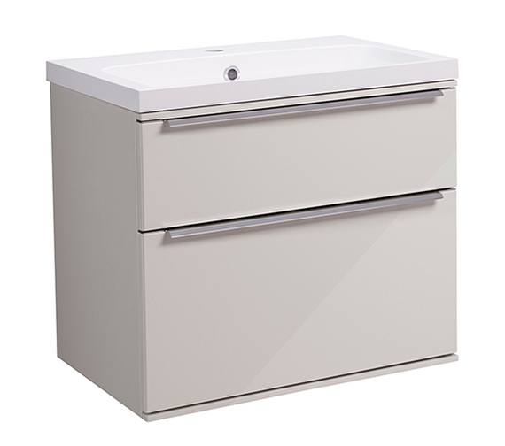 Alternate image of Roper Rhodes Scheme 600mm Gloss White Wall Mounted Basin Unit