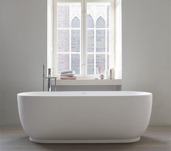 Duravit Luv 1800 x 850mm Freestanding Bathtub