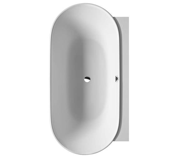 Duravit Luv 1800 x 950mm Back To Wall Bathtub