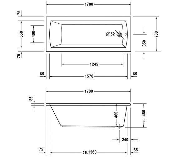 Technical drawing QS-V6447 / 760141000CE1000