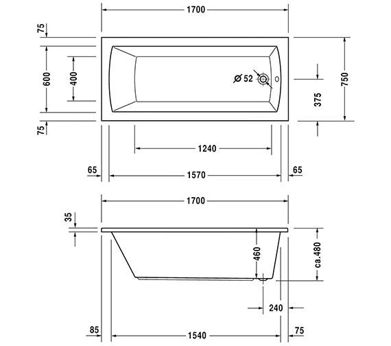 Technical drawing QS-V6448 / 760027000CE1000