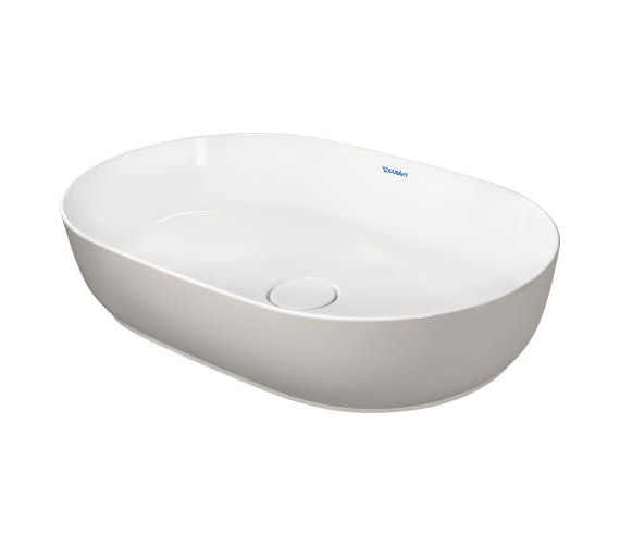Additional image of Duravit Luv 600 x 400mm White Alpin Ground Wash Bowl
