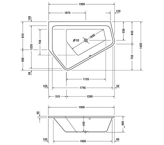 Technical drawing QS-V54289 / 760392000CL1000