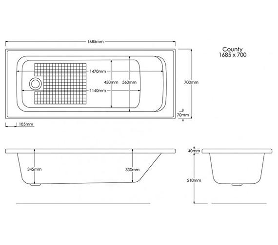 Technical drawing QS-V34217 / B931