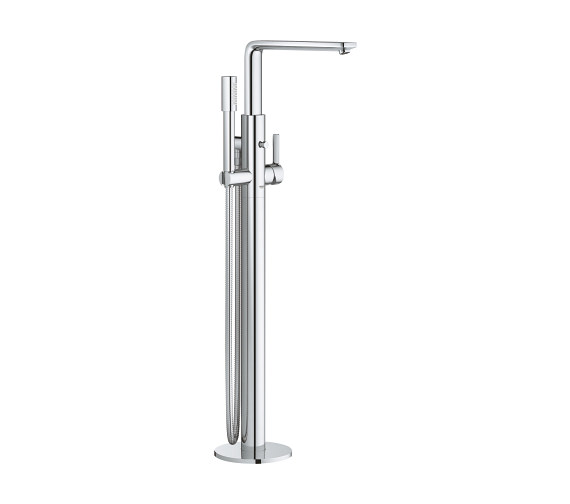 Grohe Lineare Single Lever Floor Mounted Chrome Bath Shower Mixer Tap