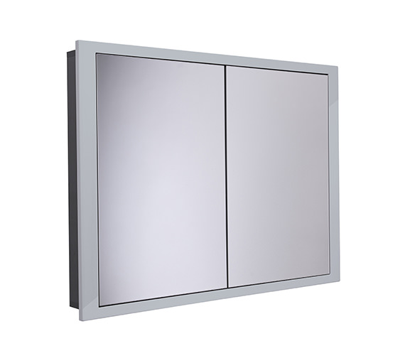Alternate image of Roper Rhodes Scheme 1040 x 120mm Recessed Cabinet Gloss White