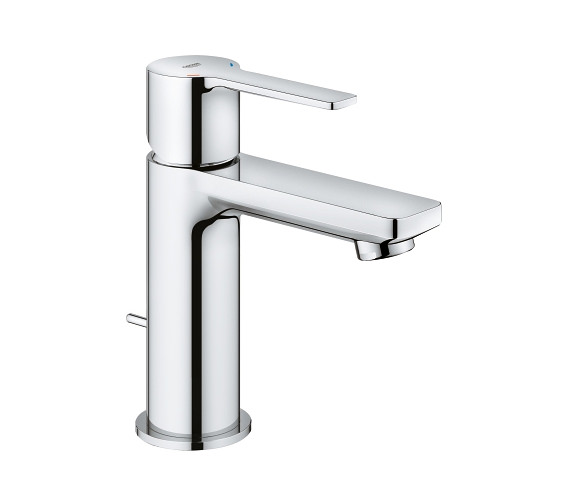 Grohe Lineare XS Size Half Inch Chrome Basin Mixer Tap With Pop Up Waste