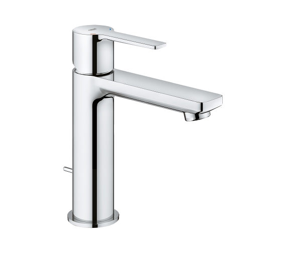 Grohe Lineare S Size Half Inch Chrome Basin Mixer Tap With PopUp Waste