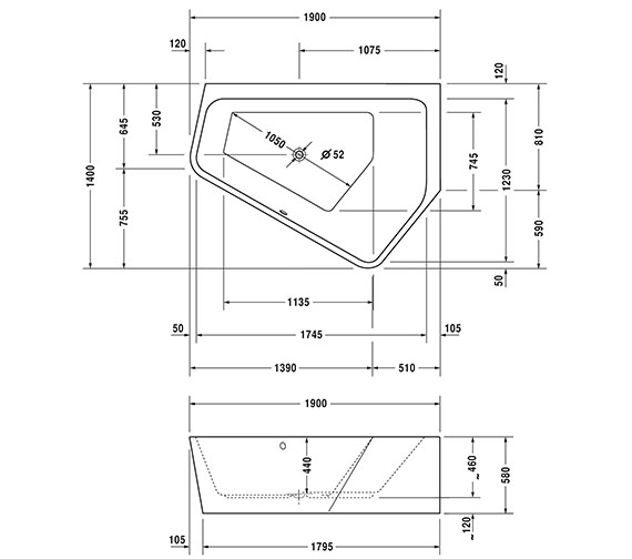 Technical drawing QS-V45819 / 760394000AS0000