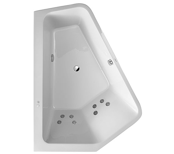 Duravit Paiova 1900mm 5 Corner Bath With Panel And Jet System - Left Or Right Hand