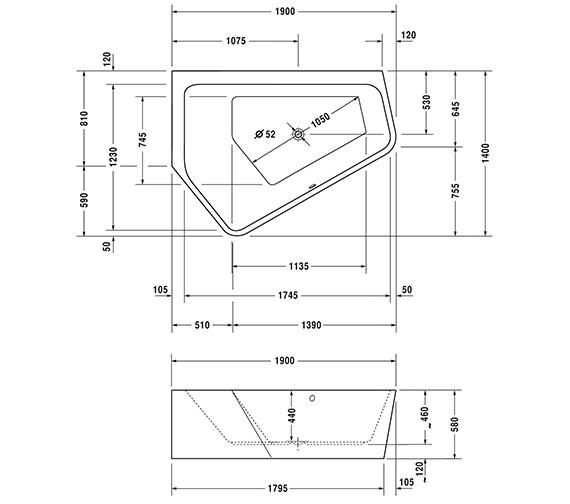 Technical drawing QS-V54295 / 760396000CL1000
