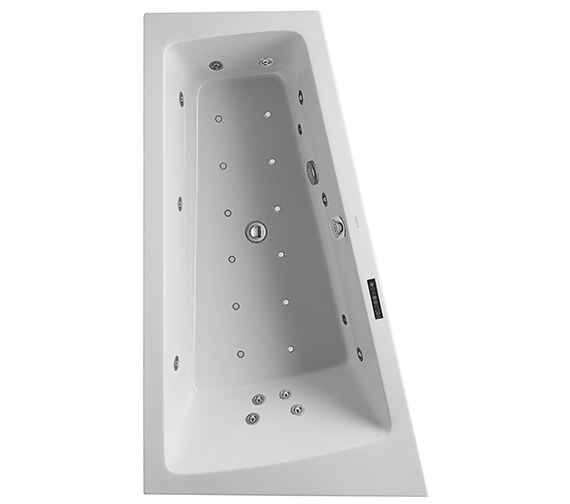 Duravit Paiova 1700 x 1000mm Left Hand Built In Slope Bath With Combi System L