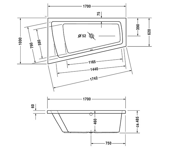 Technical drawing QS-V43702 / 760212000CL1000