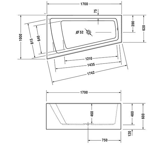Technical drawing QS-V43709 / 760264000CL1000