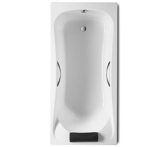 Roca BeCool Acrylic Bath With Grips And Headrest 1900 x 900mm