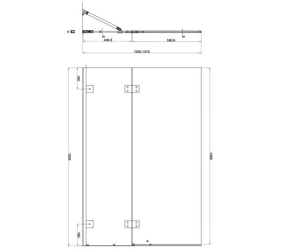 Technical drawing QS-V84453 / AQ6002