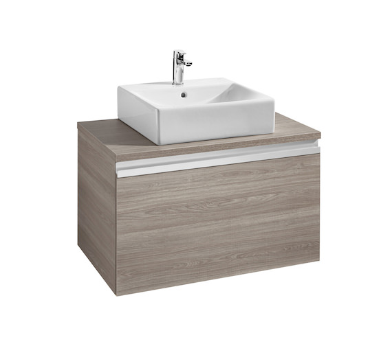Roca Heima 800x500mm Base Unit With Worktop For Over Countertop Basin