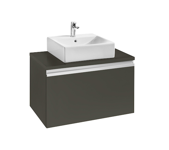 Additional image of Roca Heima 800x500mm Base Unit With Worktop For Over Countertop Basin