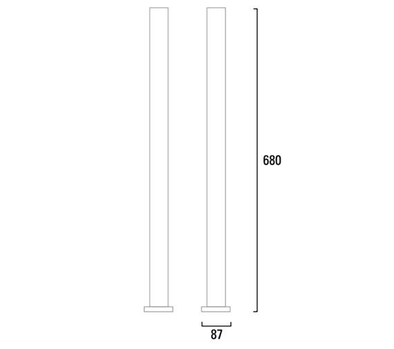 Technical drawing QS-V4813 / T262102