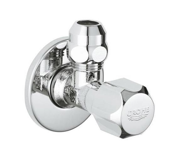Grohe Universal Angle Valve 1-2 Inch x 3-8 Inch