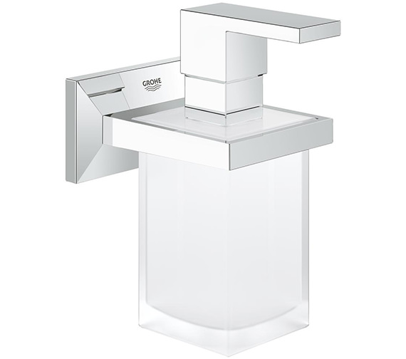 Grohe Allure Brilliant Holder With Soap Dispenser