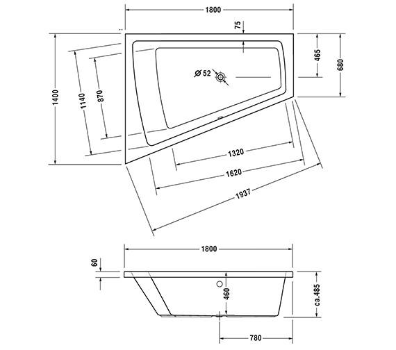 Technical drawing QS-V43766 / 760216000CL1000