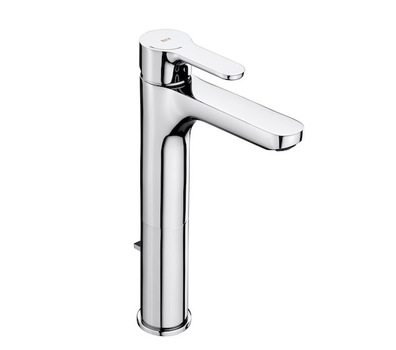 Roca L20 Extended Height Basin Mixer Tap With Pop-Up Waste
