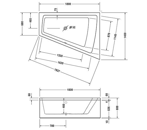 Technical drawing QS-V54277 / 760223000CE1000