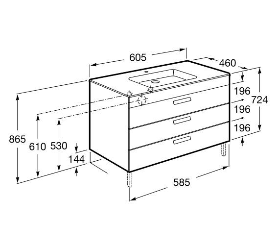 Technical drawing QS-V86289 / 856832154