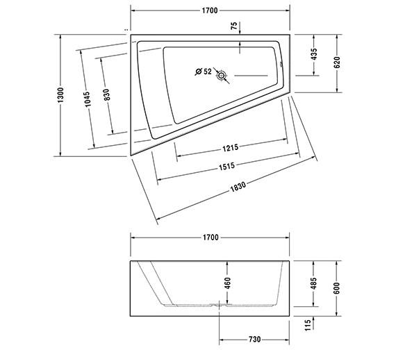 Technical drawing QS-V43744 / 760266000CE1000