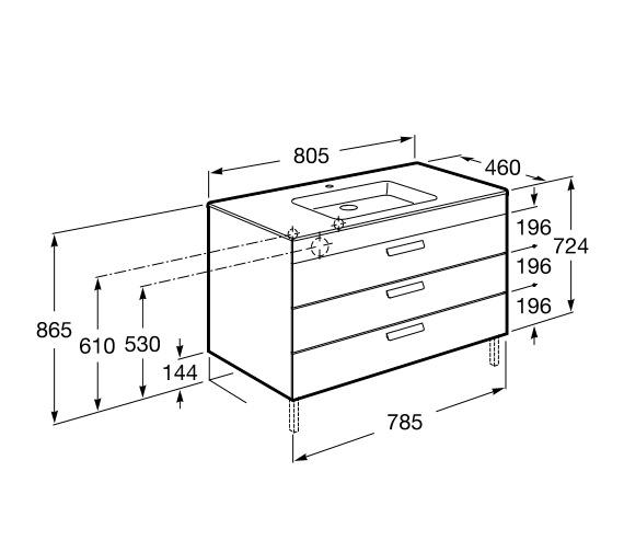 Technical drawing QS-V86288 / 856834154