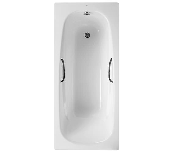 Roca Carla Plus Steel Bath 1700 x 700mm With 2 Tap Holes