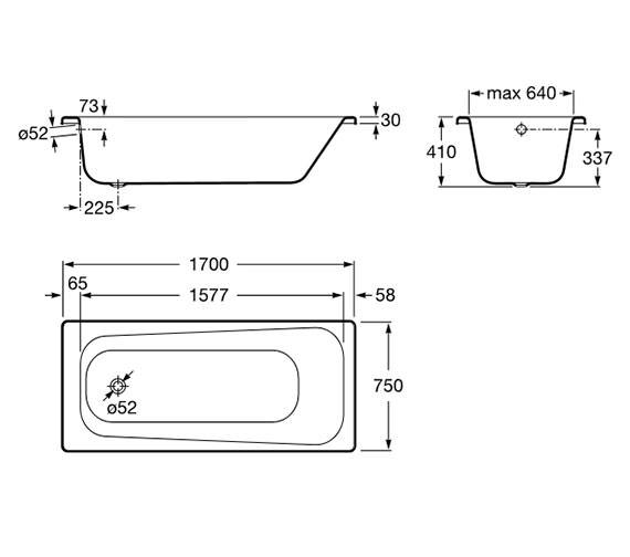 Technical drawing QS-V19272 / 237965000