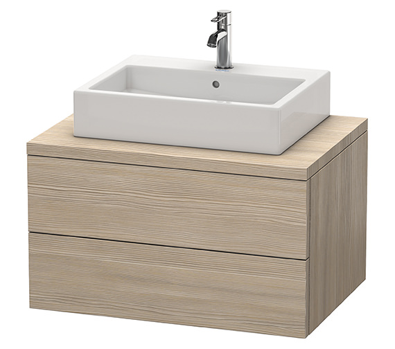 Additional image of Duravit Delos 800 x 565mm White Matt Vanity Unit For Console