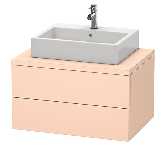 Alternate image of Duravit Delos 800 x 565mm White Matt Vanity Unit For Console