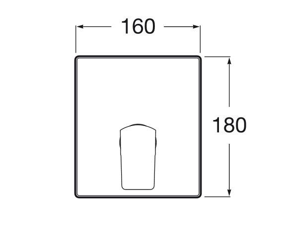 Technical drawing QS-V93010 / 5A2B01C00