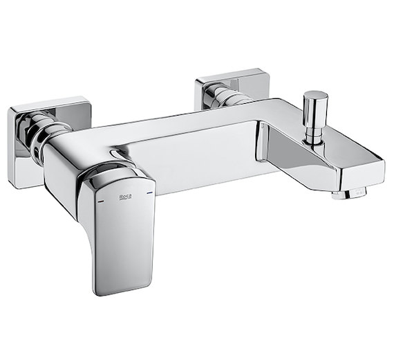 Roca L90 Wall-Mounted Bath-Shower Mixer Tap