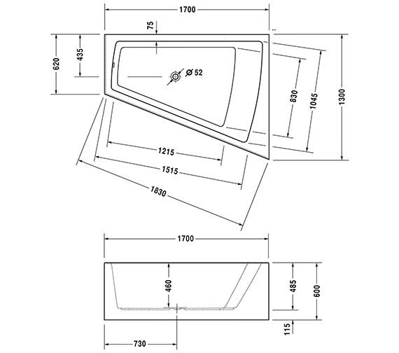 Technical drawing QS-V43707 / 760264000JS1000